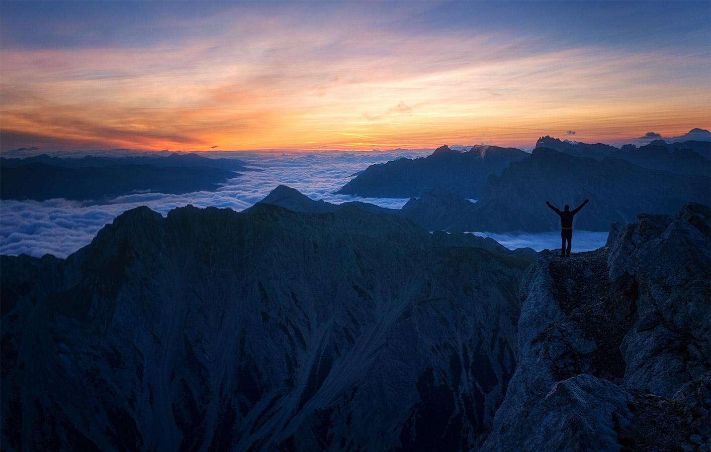 Dolomites - Croda del beco