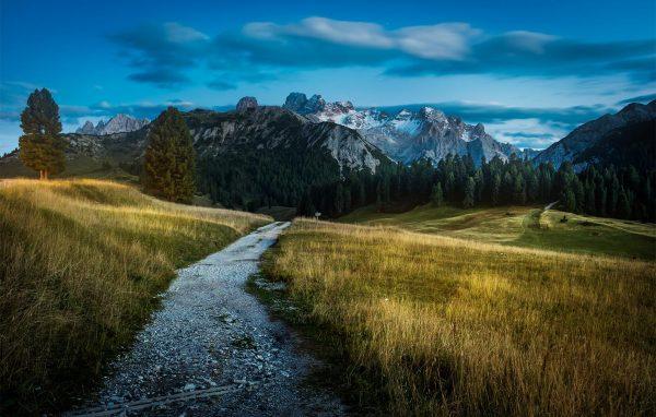 Dolomite - sunset