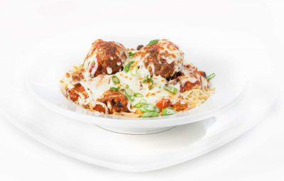 Spaghetti gratiné