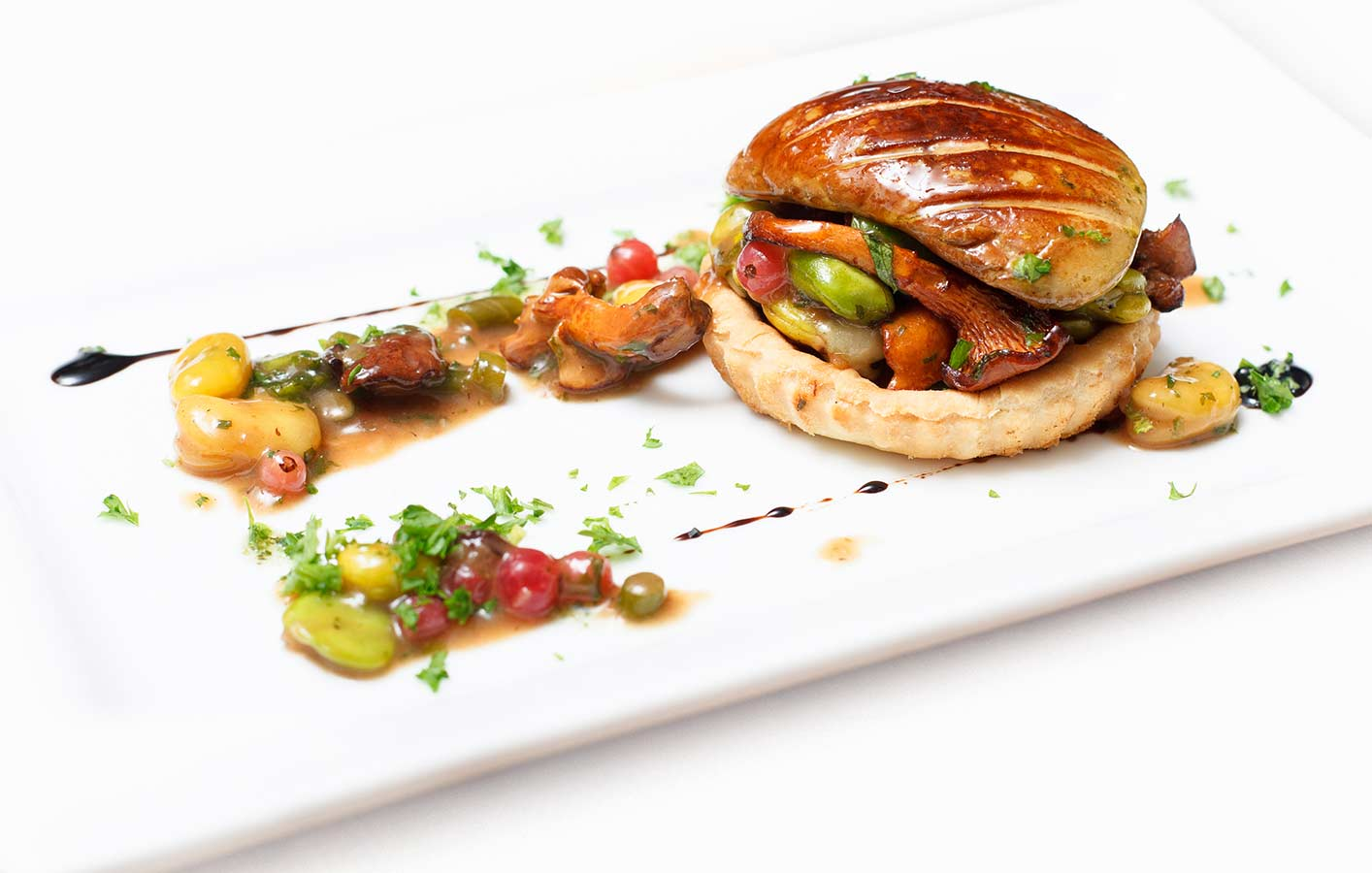 Tartelette de foie gras